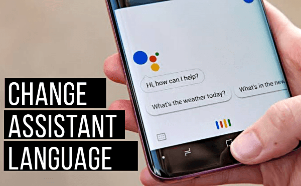 change google assistant voice language