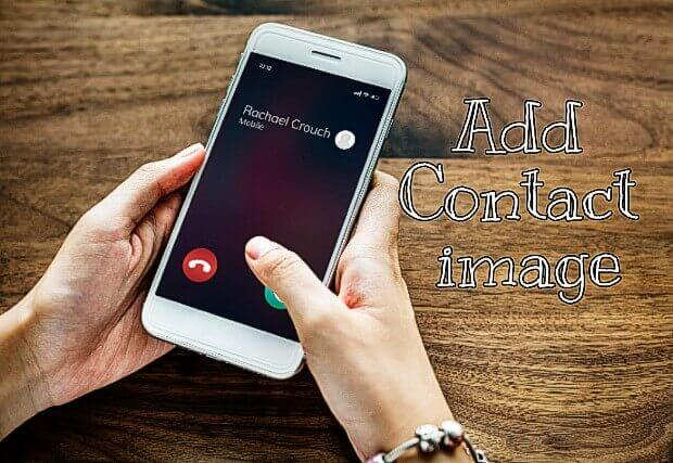 how to set contact picture