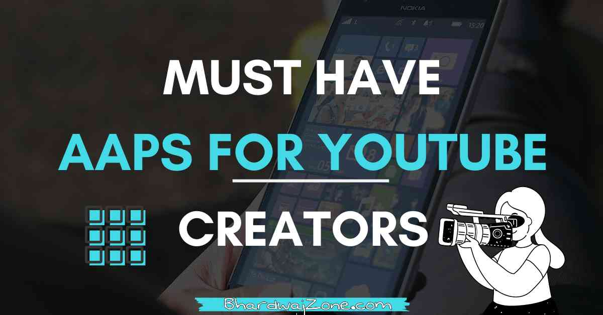 BEST APPS FOR YOUTUBERS ANDROID