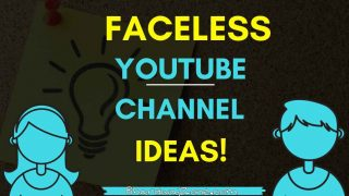 12 YouTube Channel Ideas Without Showing Face 2021 (Unique + Easy )