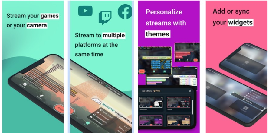 best live streaming apps for gaming on youtube