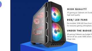 TOP 4: Best Gaming Cabinet Under 5000 Rs (June 2021) | RGB LED