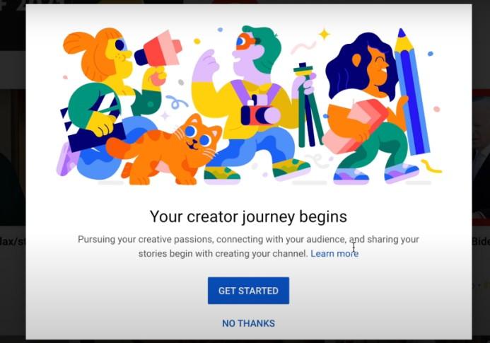 Your Creator Journey Begins