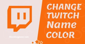 {With Images} How To Change Twitch Name Color on Chat 2021