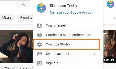 Hide YouTube Channel