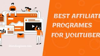 Top 6 Best Affiliate Programs for YouTubers 2021 | [90% Commission]