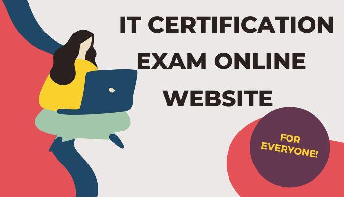 IT Certification Exams Online website